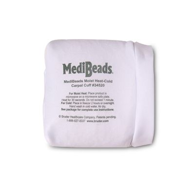 MediBeads Moist Heat Therapy Carpal Cuff Wrap