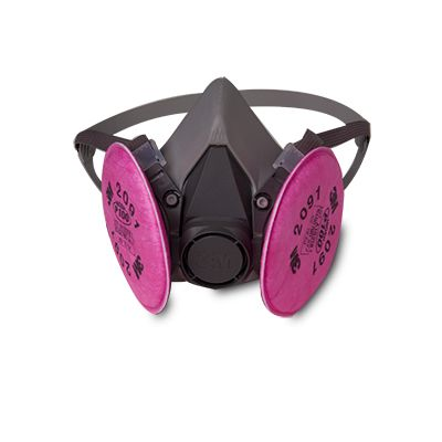 3M 6291 P100 Half Facepiece Reusable Respirator - Medium Size