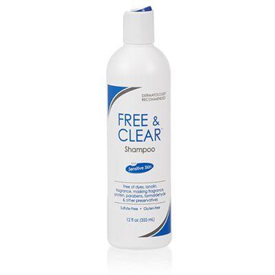 Free & Clear Shampoo 12-oz Bottle
