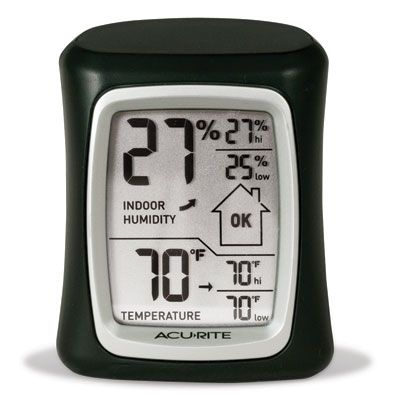 AcuRite Indoor Humidity Monitor & Thermometer
