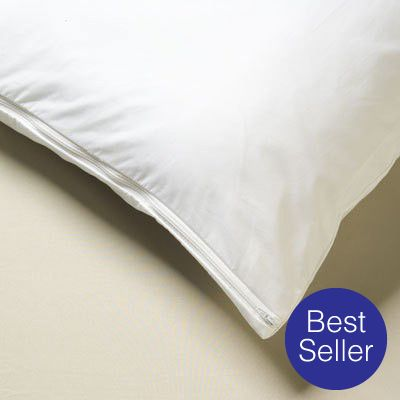 All-Cotton Allergy Pillow Covers
